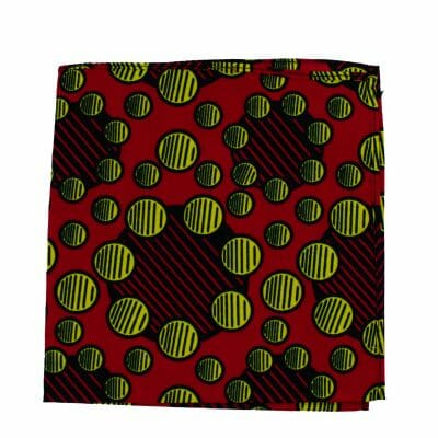 Red Eldoret Pocket Square